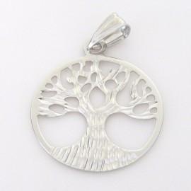 Stříbrný přívěsek strom