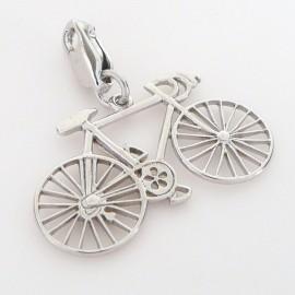 Stříbrný přívěsek jízdní kolo