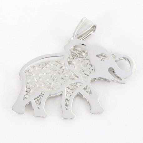 Stříbrný přívěsek slon