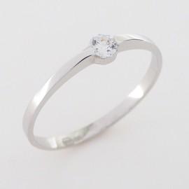 Zlatý prsten se zirkonem