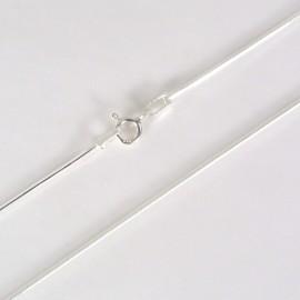 Stříbrný řetízek hádek 45cm
