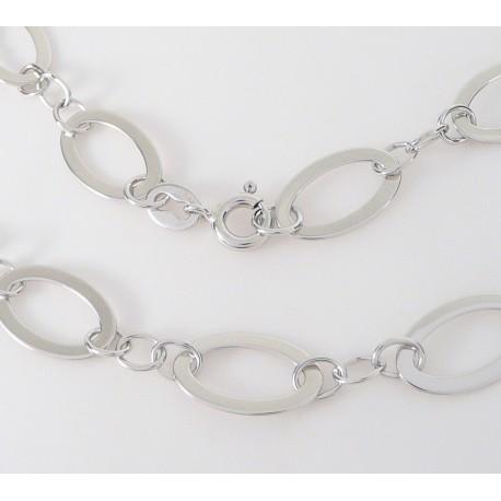 042101798 Stříbrné šperky >Stříbrné náhrdelníky>Stříbrný náhrdelník. Výprodej! Stříbrný  náhrdelník