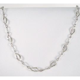 Stříbrný náhrdelník gravírovaný