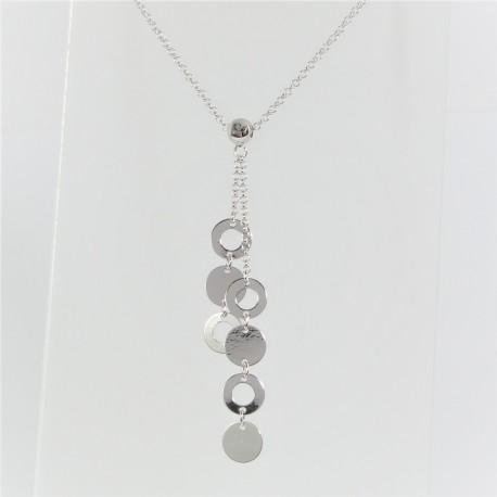 9f956237d Stříbrný náhrdelník kolečka - Šperky Sypo - zlaté a stříbrné šperky - perly