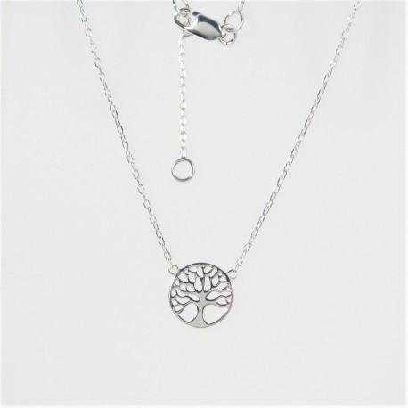787db54b9 Stříbrný náhrdelník strom života - Šperky Sypo - zlaté a stříbrné šperky -  perly