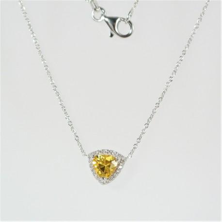 6e2998f75 Stříbrný náhrdelník se zirkony - Šperky Sypo - zlaté a stříbrné šperky -  perly