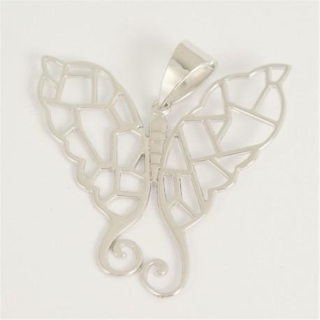 Stříbrný přívěsek motýl