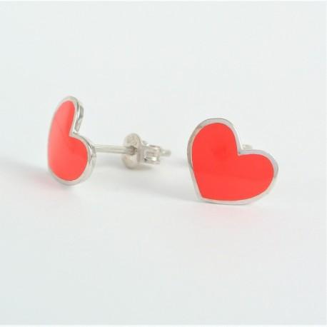 98c7c82e8 Stříbrné náušnice srdce - Šperky Sypo - zlaté a stříbrné šperky - perly