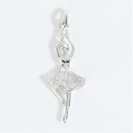 Stříbrný přívěsek baletka tanečnice