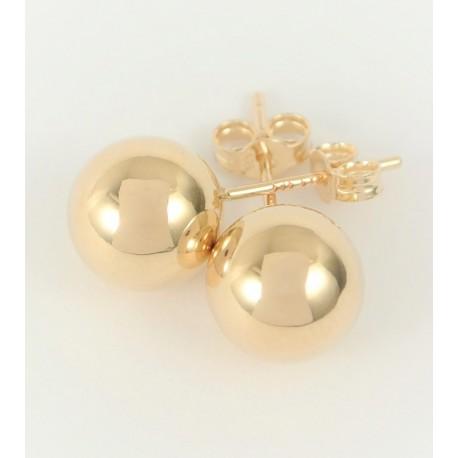 Zlaté náušnice kuličky