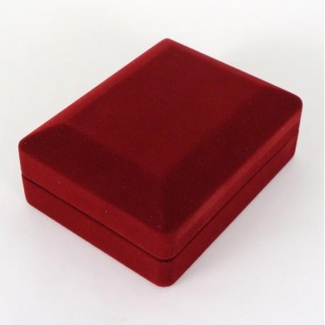 Krabička na šperky sametová