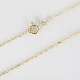 Zlatý řetízek anker 50cm