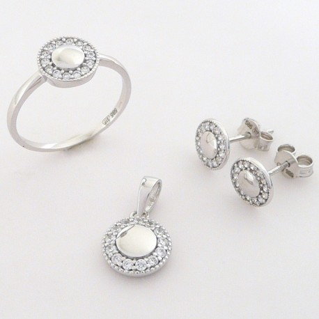 ababdeae7 Zlatá souprava se zirkony - Šperky Sypo - zlaté a stříbrné šperky ...