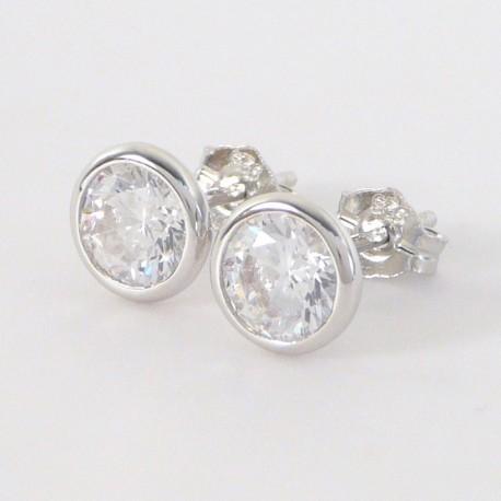 cdc9b18fb Stříbrné náušnice se zirkony - Šperky Sypo - zlaté a stříbrné šperky - perly