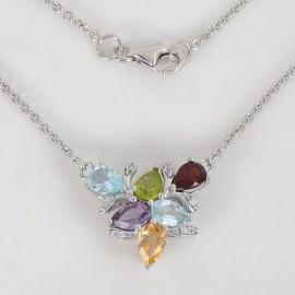 Stříbrné náhrdelníky